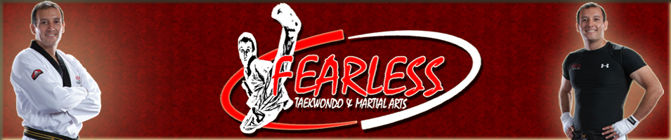 Fearless Taekwondo and Martial Arts LOGO